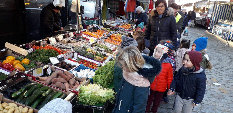 Sortie au marché de Lannion